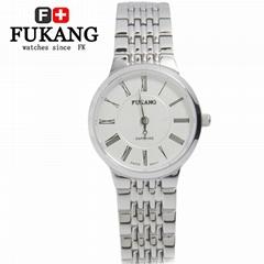超薄女式石英表韩版时尚简约腕表男潮流个性欧美休闲钢带情侣手表