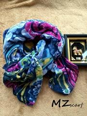Ethnic Fusion textile printing scarf