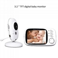 3.2 inch Color Wireless Video Baby
