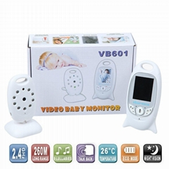 2.0 inch LCD Color Wireless Video Baby Monitor VB601