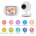 "3.5"" LCD Wireless Digital Baby Monitor"
