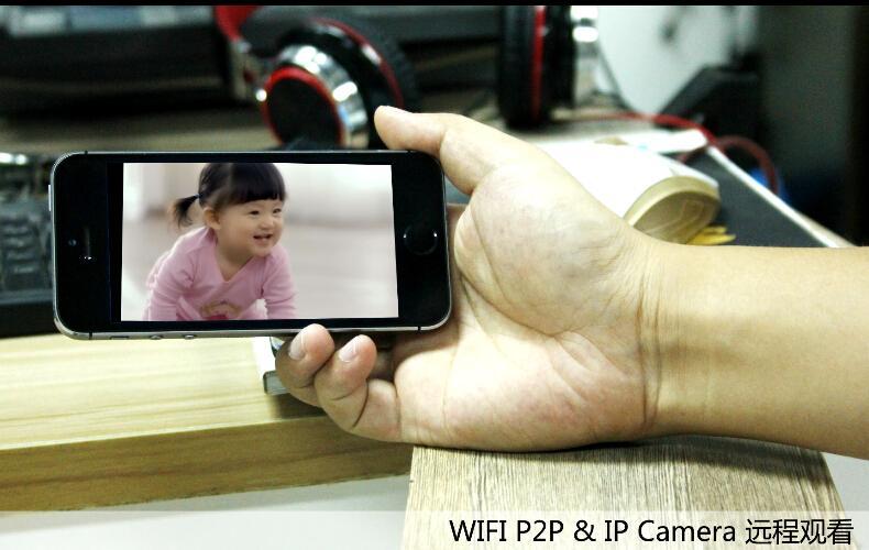 WIFI IP Camera Mini DV HD 720P Action Camera  3