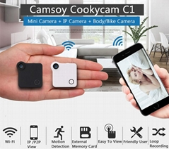WIFI IP Camera Mini DV H