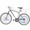 Mini WiFi Rearview Bike Camera, P2p 720p Bicycle Rearveiw Camera to Keep Cyclist 4