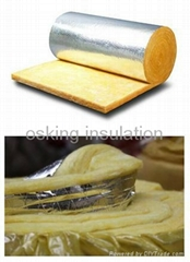 Glass Wool Insulation Blanket with Aluminum Foil Facing