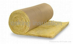 Glass Wool Insulation Blanket with Kraft Paper Facing