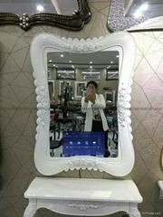 发廊镜面广告机