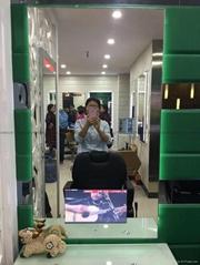 沙龙美发店高级镜台视频电视广告机