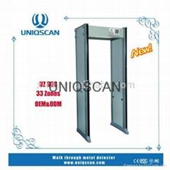 walk  through  metal  detector  gate