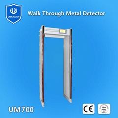 33 zones walk through metal detector UZ800