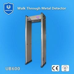 walk  through  metal  detector  gate UB600