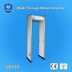 walk  through  metal  detector  with 6 zones UB500