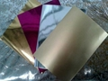 Christmas gold silver metallized wrapping paper 2
