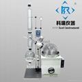 Jacketed Rotovap/Vacuum distillation