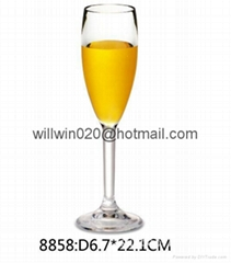 oem fancy polycarbonate acrylic tea milk fruit juice Glasses mug manufacturer
