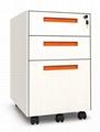 metal  pedestal movable cabinet
