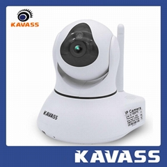 Wireless ip PTZ Network 1.3M Pixels baby monitor CCTV camera