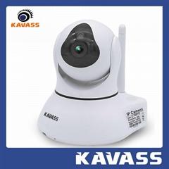 Wireless ip PTZ Network 1.3M Pixels baby monitor CCTV camera