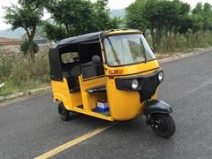 2 Row Seat Bajaj Three Wheeler Price Auto Rickshaw Spare Parts Tuk Tuk for Sale