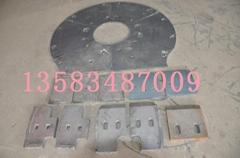 支持混批混凝土攪拌機配件路通1000 襯板葉片