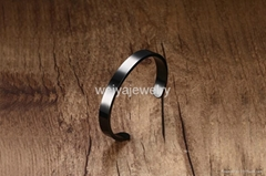 Stainless steel open cuf