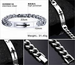 316L stainless steel jew