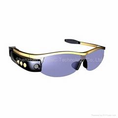 Smart Sunglasses 8 Mega-Pixel HD 720p