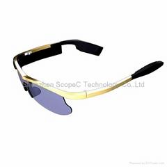 Smart Glasses, Sports Sunglasses WiFi