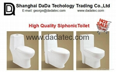 DD101 Siphonic two piece Toilet
