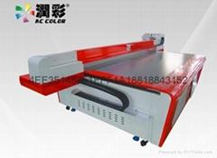 不锈钢背景墙润彩UV打印机成套设备信誉保证