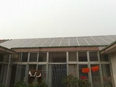 家庭屋頂光伏發電並網系統 分布式太陽能系統