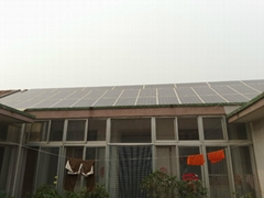 家庭屋顶光伏发电并网系统 分布式太阳能系统