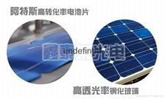 河南太陽能電池板分布式太陽能家庭發電