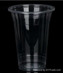 一次性餐具环保塑料透明PP170ML饮水杯