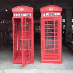 欧式电话亭