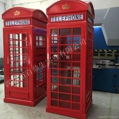 廠家直銷英國倫敦電話亭