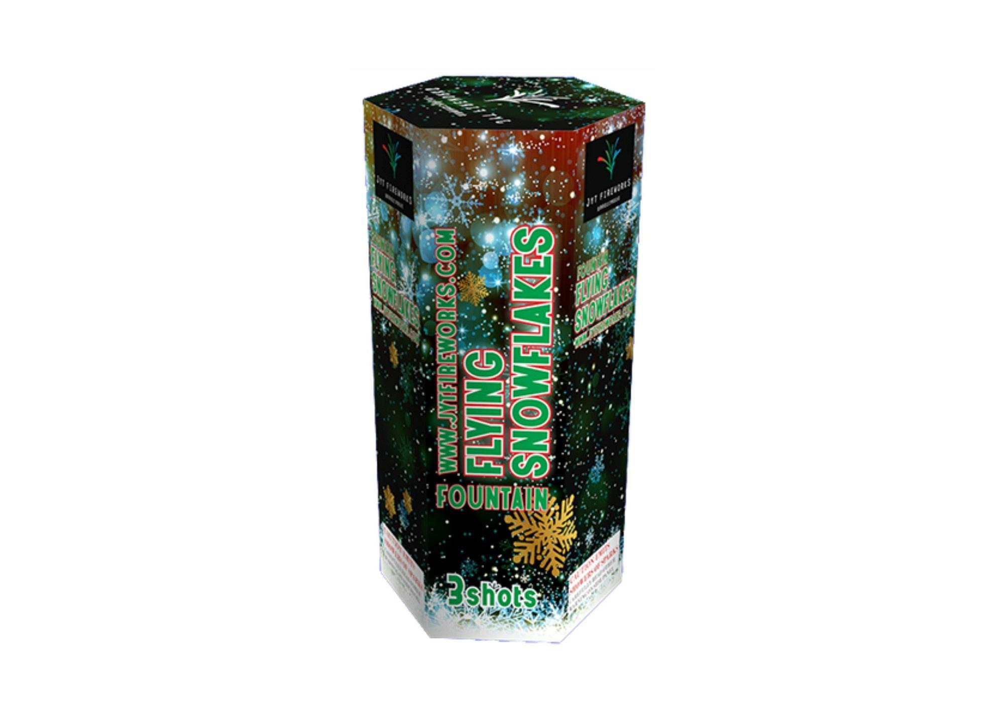 3shots Fountain (JYTA020080) Fireworks 1