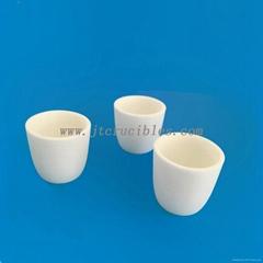 alumina crucible 50ml alundum pot,wholesale corundum crucible