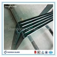 10mm tempered glass for showeroom