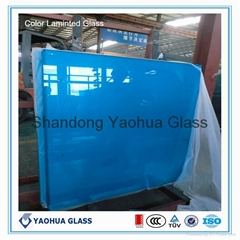 6.38mm/8.38mm/10.76mm laminated glass