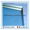 6.38mm/8.38mm/10.76mm laminated glass CCC/CE 2