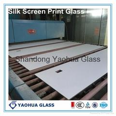 彩釉鋼化玻璃 裝飾玻璃