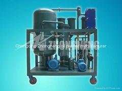 Vacuum lubricating oil filtration machine oil purifier