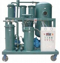 Used oil filtration machine