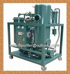 Vacuum used turbine oil purifier