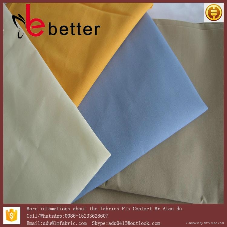 """In Stock tc 90/10 45x45 96x72 58/59"""" dye finished textile fabric 2"""