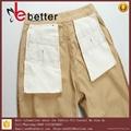 "P/C65/35 45x45 110x76 58/59""bleached fabric pants pockets 3"