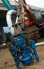 挖掘機液壓驅動清淤泵