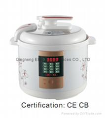 Hot sale multifunction LED digital electric pressure cooker 5L with CE/CB