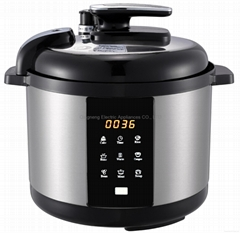 Electric Pressure Cooker With Non-stick Coating Aluminum Inner Pot